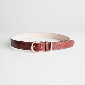 NWT & Other Stories leather belt